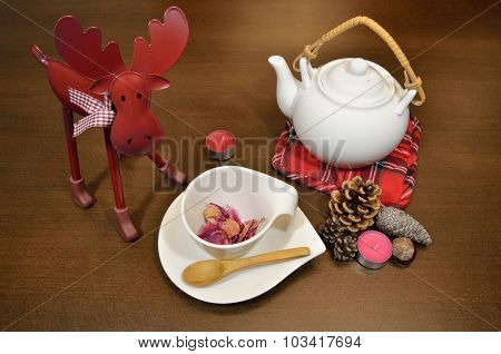 Tea Set With Decoration
