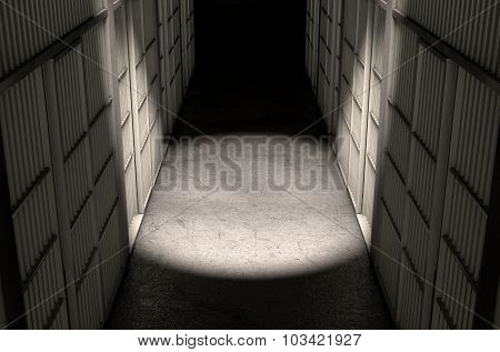 Jail Cell Corridor Top
