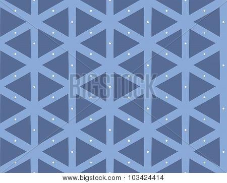 Vector seamless pattern, repeating geometric tiles.
