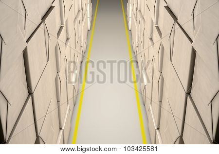 Stacked Boxes Warehouse