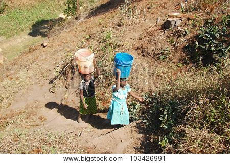 The Precious Water In The Region Of Kilolo, Tanzania Africa 33