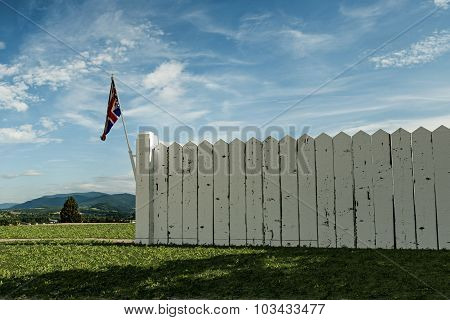 English Wooden Fence