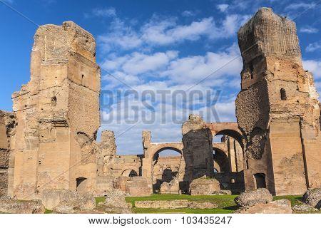 Baths Of Caracalla
