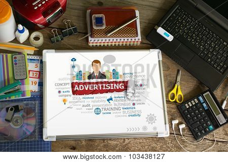 Advertising Design Illustration Concepts For Business