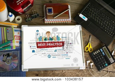 Best Practice Design Illustration Concepts For Business, Consulting, Finance