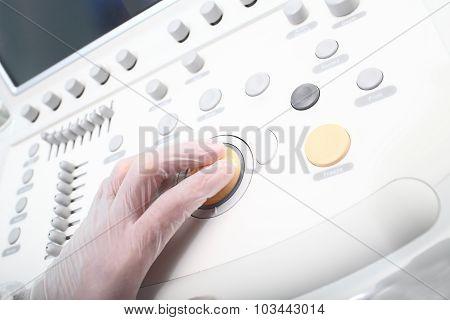 Control Panel Of Medical Equipment