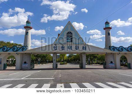 Incheon Grand Park Main Gate