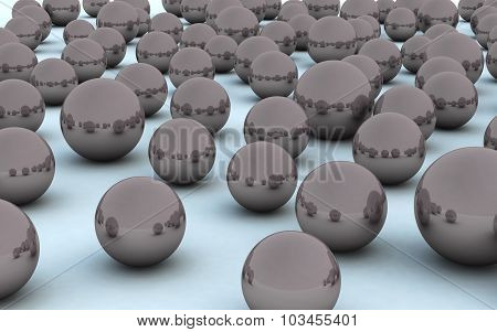 3D Ball Black