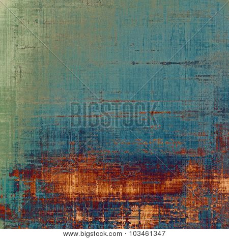 Grunge retro vintage texture, old background. With different color patterns: yellow (beige); brown; blue; green