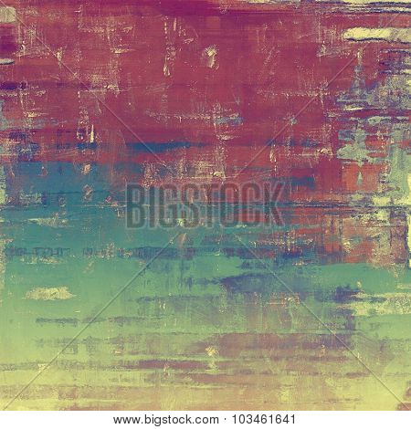 Beautiful antique vintage background. With different color patterns: yellow (beige); brown; purple (violet); blue