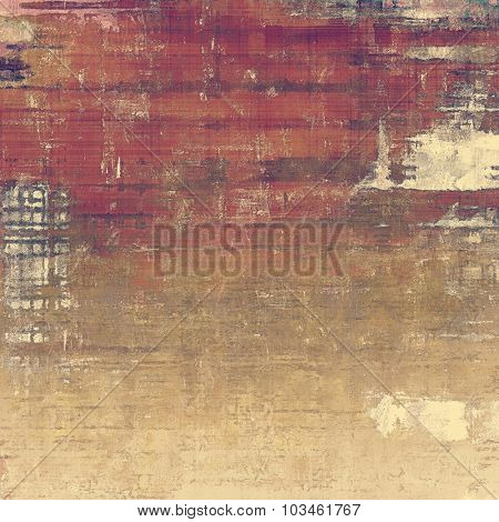 Abstract retro background or old-fashioned texture. With different color patterns: yellow (beige); brown; purple (violet); gray