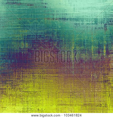 Antique vintage texture, old-fashioned weathered background. With different color patterns: yellow (beige); purple (violet); blue; green
