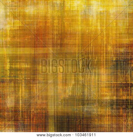 Retro background with old grunge texture. With different color patterns: yellow (beige); brown; gray