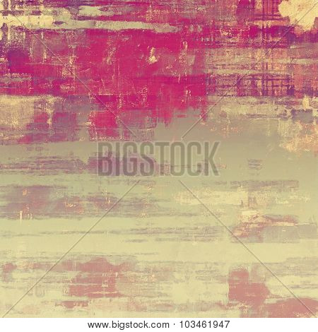 Old antique texture (for background). With different color patterns: yellow (beige); brown; pink; gray