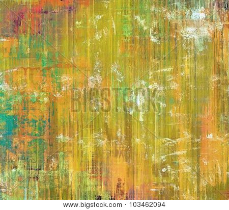 Abstract retro background or old-fashioned texture. With different color patterns: yellow (beige); blue; green; red (orange)