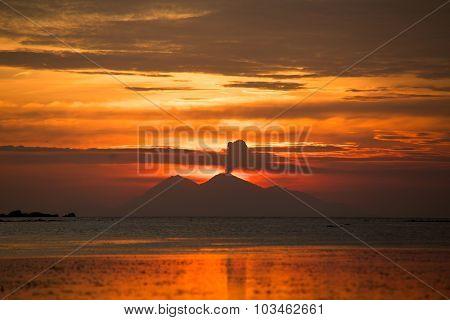 Volcano In Sumbawa