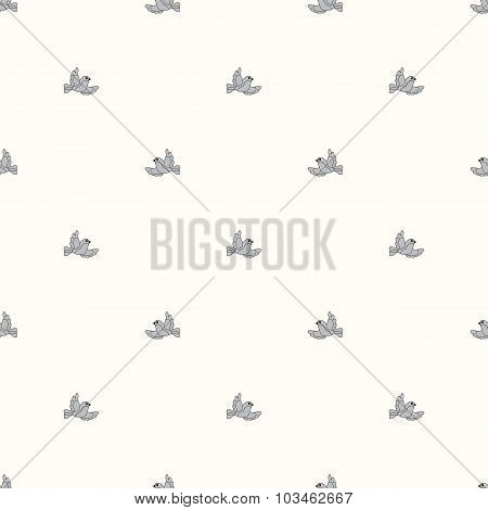Seamless Pattern In Birds
