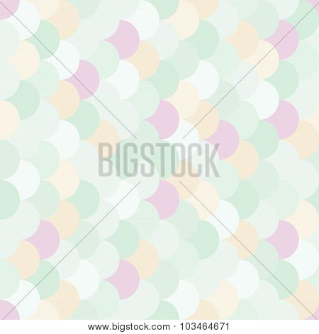 Vector modern seamless colorful geometry pattern overlapping circles color subtle abstract