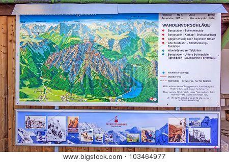 Information Sign Predigtstuhlbahn