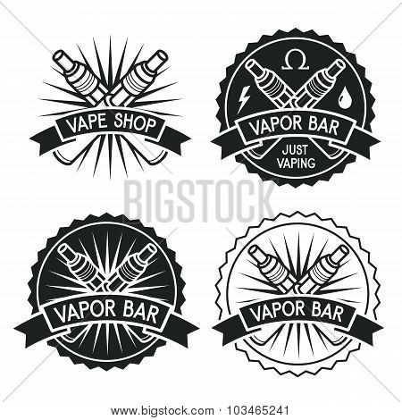 Vapor Bar And Vape Shop Logo