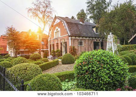 Houses in Ede, Netherlands.
