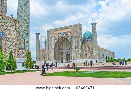 The Architecture Of Samarkand