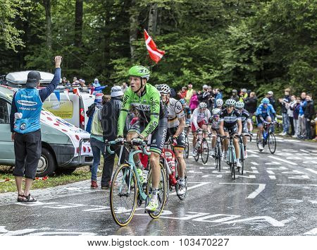 Group Of Cyclists - Tour De France 2014