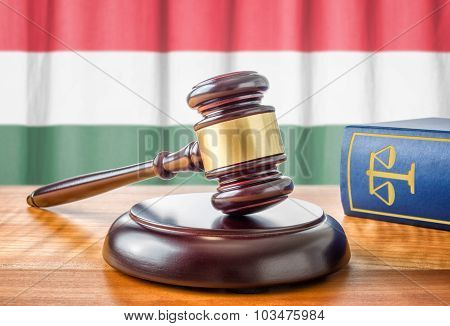 A Gavel And A Law Book - Hungary