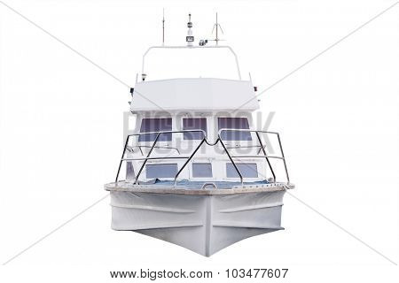 The image of a passenger boat
