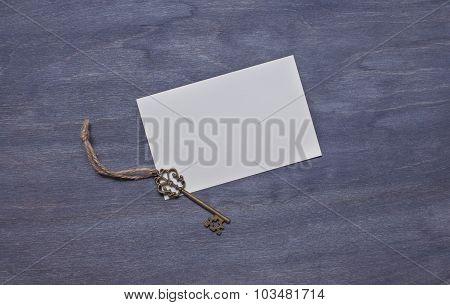 Invitation Card With Key