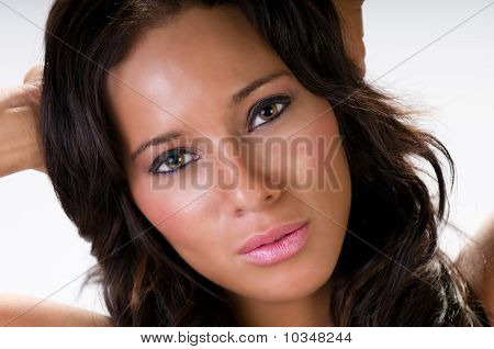 Sensual Portrait Of Young Woman