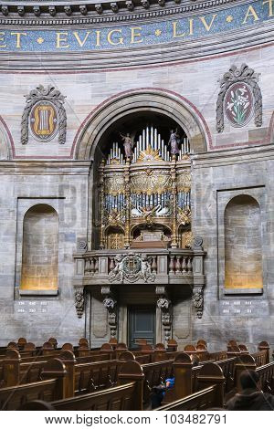 One Of The Organs In The Church