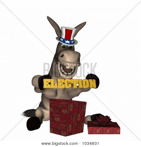 Donkey - Early Christmas Gift