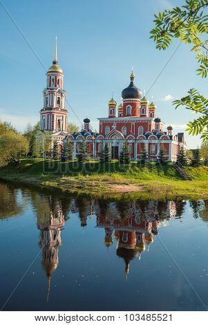 The ancient Russian town of Staraya Russa