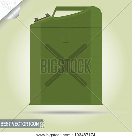 Gasoline jerry can