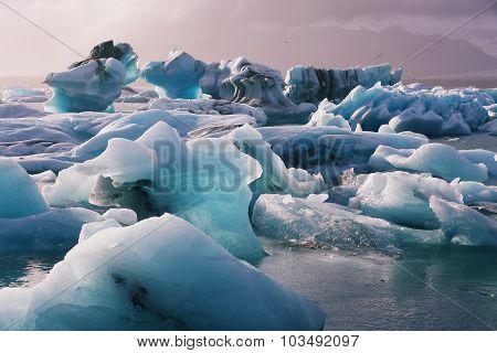 Jokulsarlon Glacial
