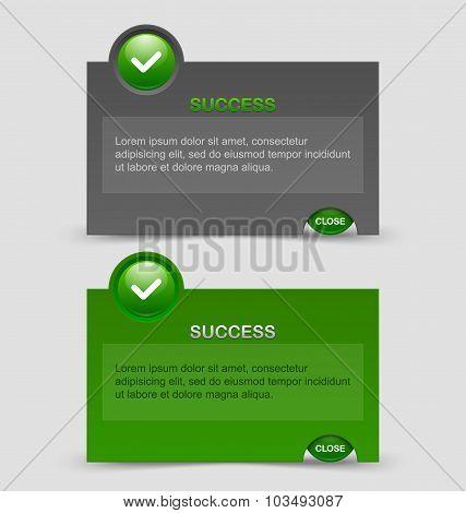 Success Notification Windows