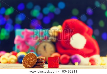 Cookies And Gift Box