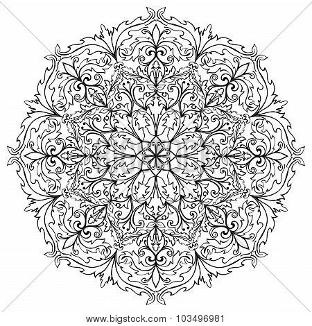 Sketch Baroque Ornament.