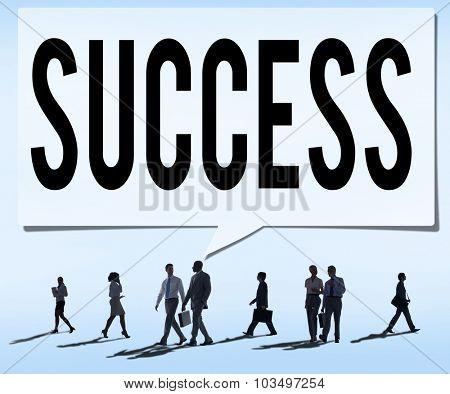 Success Achievement Growth Goals Concept