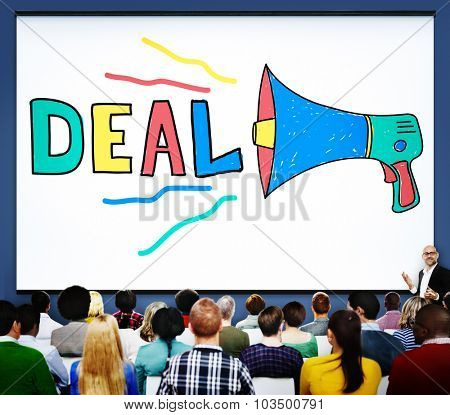 Deal Agreement Corporate Collaboration Partnership Concept