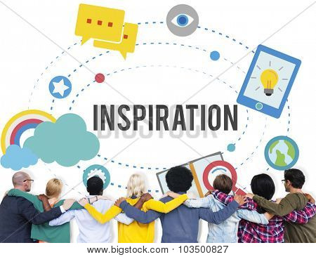 Inspiration Innovation Creativity Ideas Vision Concept