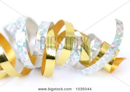 Ribbon Gold And Silver