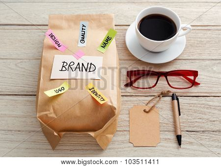 Branding Marketing Concept