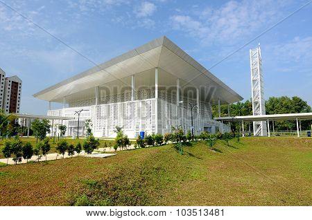 Ara Damansara Mosque in Selangor, Malaysia