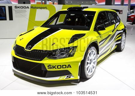 2015 Skoda Fabia R5