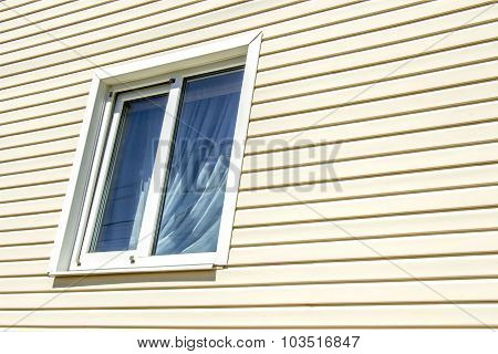 The Window Of A Private House