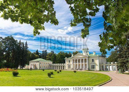 Classic architecture mansion exterior