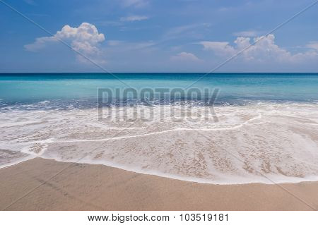 Tropical Beach With Turquoise Waters
