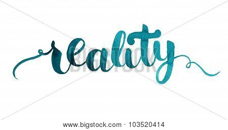 Reality card.